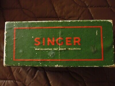 Singer sewing machine accessories for 201K