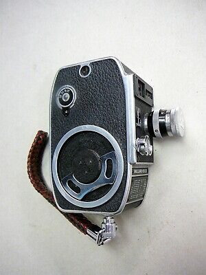 Vintage Bolex -Paillard L8  8mm Cine Movie Camera, Swiss Made