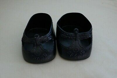 My Child Doll Or Cpk Black Shoes - Small Variety