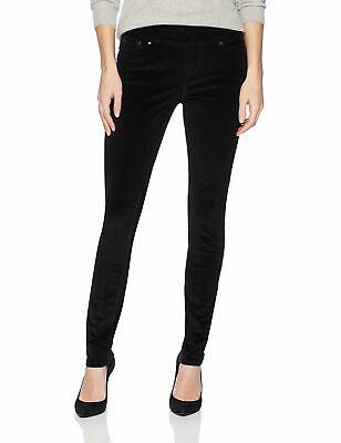 Jag Jeans Womens Pants Black Size 16 Corduroys Stretch Skinny Pull On $74 238