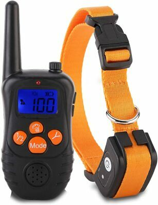 Dog Shock Collar With Remote Waterproof Electric For Large Yard Pet Training