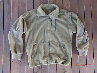 Australian Army Walkabout Wool Fleece Combat Jacket Size L 100 - 110 cm Chest