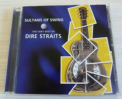 Cd Album The Very Best Of Sultans Of Swing Dire Straits  16 Titres 1998