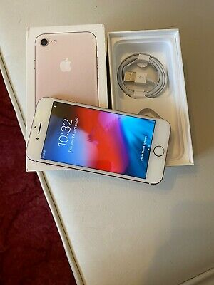 Apple iPhone 7 128GB Rose Gold Original Unlocked Refurbished Good Condition