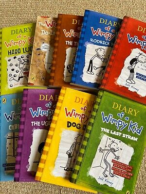 Diary of a Wimpy Kid Box Set Collection (10 Books) Jeff Kinney