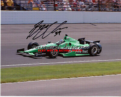 Indianapolis 500 Driver BRYAN CLAUSON Indy Auto Race SIGNED 8x10 Photo reprint