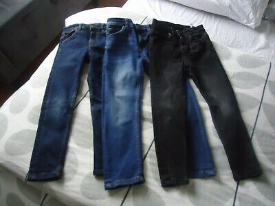 Boys Jeans x 3 Pairs Age 6 - Next , Zara , Skinny Fit, Great Condition