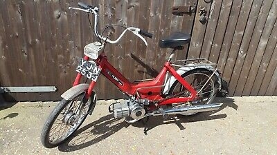 Puch Maxi Moped 1970 Running Restoration Project E50 Kickstart Engine