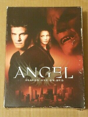 Angel Tv Show ~ Seasons 1 ~ 6 Dvd Disc Collection ~ 22 Complete Episodes ~Photos