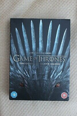 Game Of Thrones: Season 8 (DVD) - Like New & Sealed - Free Shipping to UK