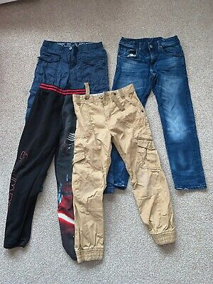 Small Bundle Of Boys Clothing Size 9-10 Years 7 Items H&M, Espirit, Next