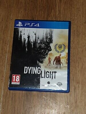 Dying Light (Sony PlayStation 4, PS4 ) horror game