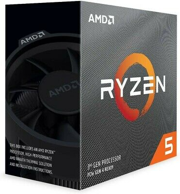 AMD Ryzen 5 3600 Processor (6C/12T, 35MB Cache, 4.2 GHz Max Boost) New, Sealed.