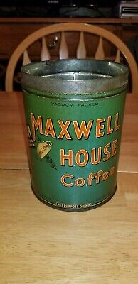 Vintage Maxwell House Coffee 2lb Tin General Foods