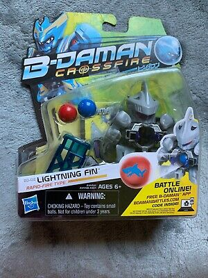 B-Daman Crossfire BD-02 Lightning Fin Figure