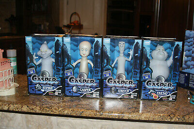 Casper The Friendly Ghost MISCHIEF MAKERS ACTION TOYS GLOW IN THE DARK Set of 4