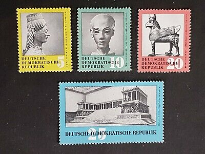 East Germany: Antique Art Treasures (2nd series); complete unmounted mint set