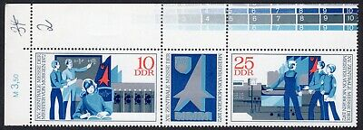 East Germany: Juvenile Inventions Exhibition; unmounted mint (MNH) pair