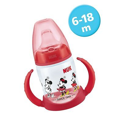 Leak-Proof Design with Soft Silicone Spout 6-18 1 NUK First Choice Sippy Cup
