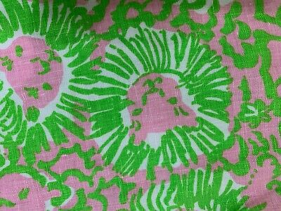 Lilly Pulitzer Women's Multi-color Linen Beach Lounge Wide Legs Pants Size M