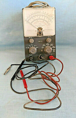 Heathkit Model V-7A Vacuum Tube Voltmeter - Parts Only