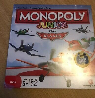 Monopoly Junior Planes. Age 5+ 2-4 Players Board Game New & Sealed Childrens