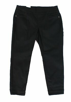 Style & Co. Womens Pants Black Size 16W Plus Comfort Waist Tummy Control $56 228