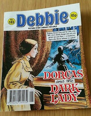 """Debbie Picture Story Library For Girls No. 183 """"Dorcas And The Dark Lady"""""""