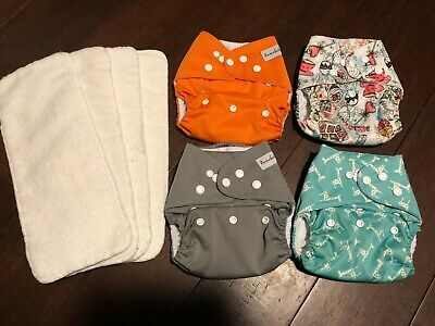 Anmababy Cloth Pocket Diapers Lot