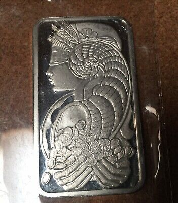 Pamp Suisse Lady Fortuna 1 Ounce Silver Bar