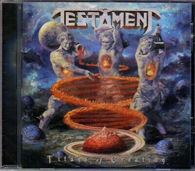 Testament Titans Of Creation CD 2020 Thrash Metal New Sealed