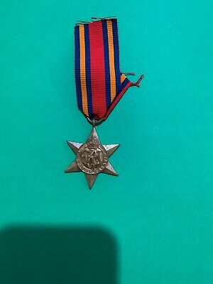WWII The Burma Star Medal 1941 to 1945