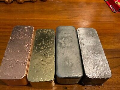 9.99% Pure brass ingot home made $40 it's over a kilogram
