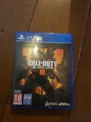 Call of Duty: Black Ops 4 (PlayStation 4, 2018)NEW NEVER USED