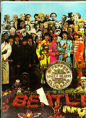 1967 Beatles Sgt. Pepper's Lonely Hearts Club Band Canada Capitol MONO Lp VG++