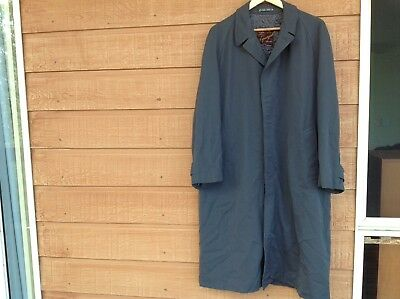 Grey Great Coat - Wool - Aquagab - Tailored By Jackville Of Melbourne - vintage