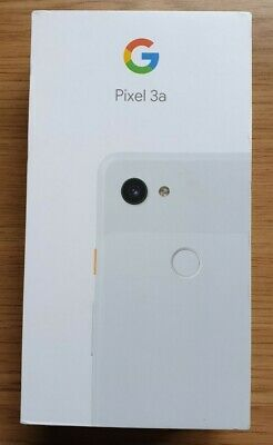 Google Pixel 3a Clearly White 64GB on Vodafone, Brand New!
