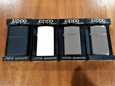 Zippo Lighters x 4 - Bulk Lot
