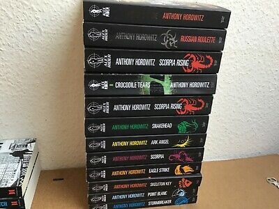 "Anthony Horowitz ""Alex Rider""  The Complete Missions  Collection 11 Books  Set"