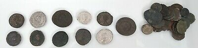 Unresearched Mixed lot of 31 Roman coins including 3 silver denarius - Lot 2