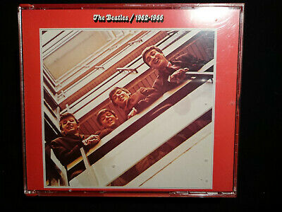 THE BEATLES 1962-1966 Red Album *2CD*RED PLASTIC*ITALY*DIGITALLY REMASTERED(403)