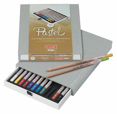 Bruynzeel Design Pastel Pencils Box 12