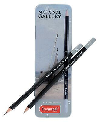 Bruynzeel Graphite Pencils Tin 6 Ng#