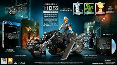 Final Fantasy Vll 7 Remake First Class Edition 1st PS4 - Neu /OVP,sold out!