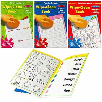 Fun to Learn Wipe-Clean - Ages 4 and Up - Assorted