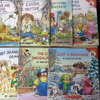 Lot of 8 Little Critter Mercer Mayer Picture Children Kids Books - MIX UNSORTED