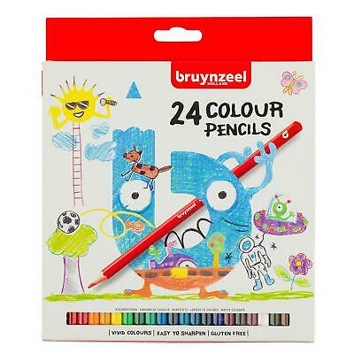 Bruynzeel Colour Pencils Cardboard Set 24#