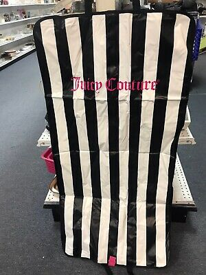"Juicy Couture 48"" Foldover Garment Bags with Handles Travel Zip-up Dress Suit"