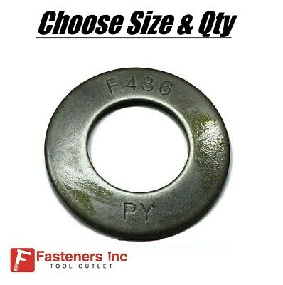 F436 Flat Washers Structural Washers Heavy Duty 7//8 Qty 50