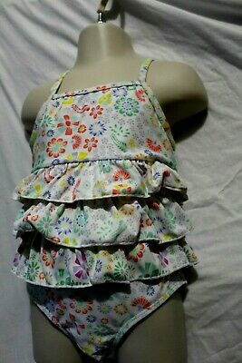 Girls 2 CRAFTED swim suit age 4-5 years